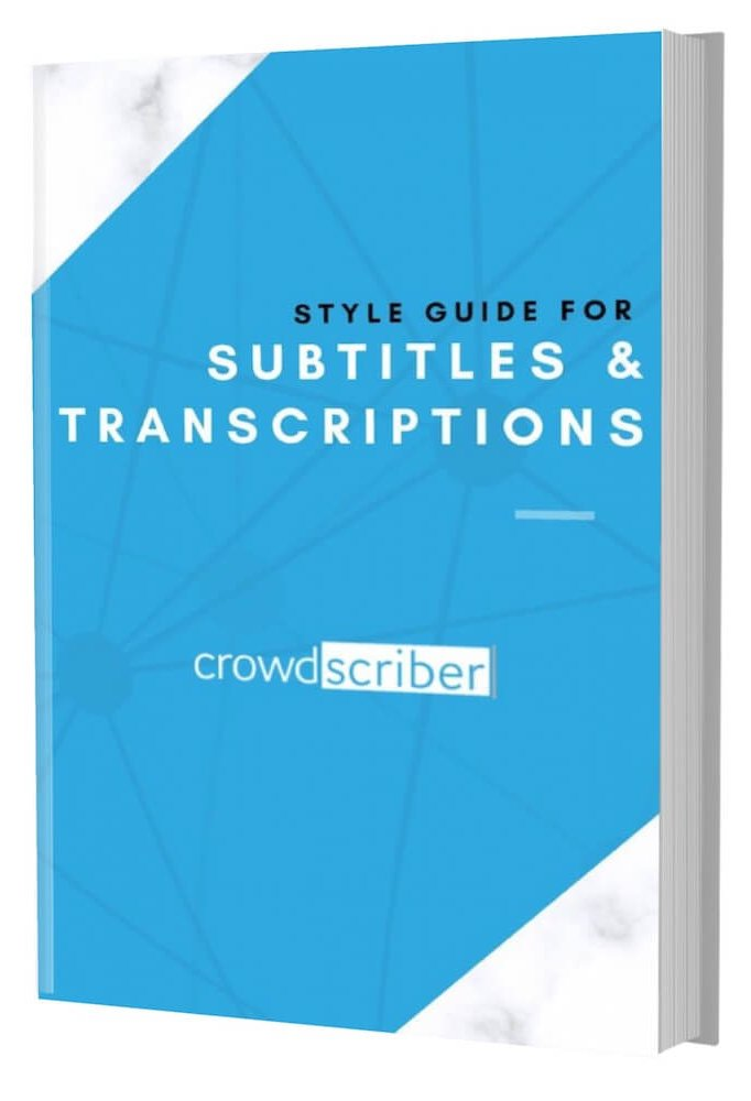 Style Guide for Subtitles EBook